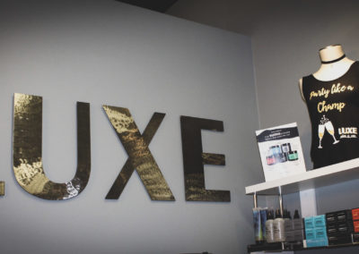LUXE sign 2018